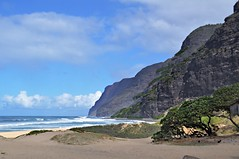 End of the Road (janetfo747) Tags: cloud beach weather hawaii sand day cloudy sunny clear kauai polihale mountians lihue endoftheroad thegalaxy