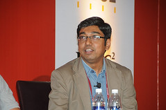 Gautam Ghosh speaking about Social Business