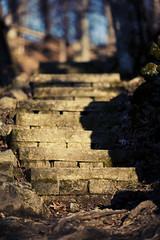 (NoahWmR12) Tags: nature stone canon december bokeh steps iowa l f2 135