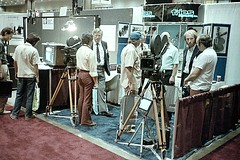 1983 SMPTE Convention - Cameras (Jay Phagan) Tags: mitchell moviecamera motionpicturecamera smpte auricon