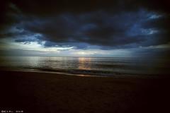 My last sunset of 2011 (Karl Hab) Tags: travel light sunset sea clouds last canon thailand photography eos december mark ii karl 5d sands phuket effected hab settings lightroom 2011  my