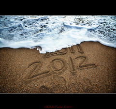 """Happy New Year Everyone!"" (Flickr Blog and Facebook Flickr page) (mediman30) Tags: sea beach sand year wave newyear resolution historical 2012"