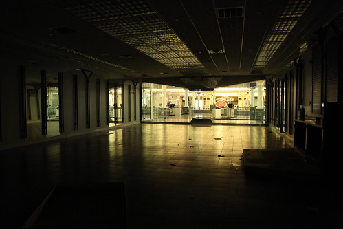 Empty former G&G's store