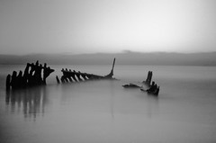 SS Dicky Regression (Matthew Post) Tags: longexposure blackandwhite beach sunrise australia queensland sunshinecoast caloundra luckyshd ssdickydickybeach luckyluckyfilm