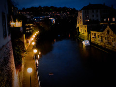 Riverside walk at night - LR3-311269-v1-web (David Norfolk) Tags: night bath olympus newyearseve ep3