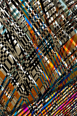 Textile Weave (Gardner Keaton) Tags: color art geometric modern illustration graphicart digital photoshop hotel design 3d construction graphics energy pattern graphic florida contemporary curves digitalart creative style structure textile fabric illusion transparency prints sarasota illustrator concept pixels vector strips visualart generated corporateart keaton officeart algorithms dimensional hotelart geometricshapes 25d textiledesign colortransparency vectordesign extradimensional gardnerkeaton jimkeaton transparentcolor keatonic
