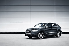 Audi Q3 2.0TDI Quattro (CiprianMihai) Tags: light black car tdi photo automotive clean 20 audi q3 quattro