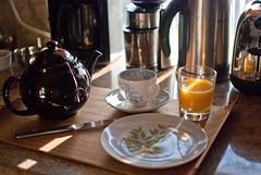 starting 2012 right (petit hiboux) Tags: breakfast tea teacups