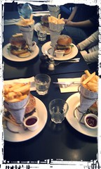 Cheeseburgers @ Le Napoleon Paris
