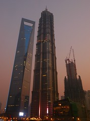 Shanghai - Before the Lights... (cnmark) Tags: world china pink blue light building tower architecture modern night skyscraper buildings geotagged noche construction niceshot shanghai nacht dusk towers jin center hour mao noite tall   pudong grattacielo financial nuit  gebude notte nachtaufnahme tallest wolkenkratzer gensler blaue  lujiazui rascacielo gratteciel swfc  arranhacu  stunde allrightsreserved shanghaicenter   mygearandme mygearandmepremium mygearandmebronze mygearandmesilver ringexcellence dblringexcellence tplringexcellence geo:lat=31239448789028668 geo:lon=12149958130584332