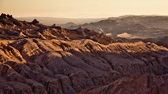 Moon Valley (Doc Doom) Tags: chile travel sunset sun canon landscape desert atacama valledelaluna 5d sanpedro lightroom sanpedrodeatacama 2011 moonvalley nortegrande 5dmarkii