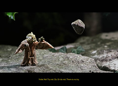 122/365 - There is no try. (Richard Berry Photography) Tags: film toy toys starwars nikon force yoda figure figurine diorama minature empirestrikesback dagobah 105mm project365 richardberry strobist yongnuo d7000 swtor