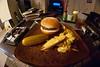 66/365 (Bradley Nash Burgess) Tags: food dinner yummy nikon yum frenchfries fisheye delicious eat fries hamburger meal 365 supper 8mm pickle nom nomnomnom project365 d80 nikond80 rokinon 365project rokinon8mm rokinon8mmfisheye