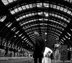 la stazione (donato radatti) Tags: street city light italy eye art station composition torino walk milano captured free writers mind messages citta donato cammini donatoradatti radatti