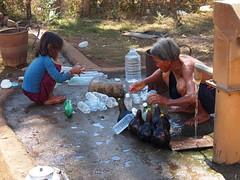 Indegenous Tampuan tribe women (Vietnamese border area, Cambodia 2011)