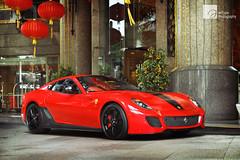 Red Hot Chili Pepper (anType) Tags: red italy sports car italian asia ferrari exotic malaysia gto kualalumpur luxury coupe supercar sportscar v12 blackrims 599 blackstripe rossocorsa worldcars