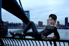 Emily Wallace, Actress (felix kunze) Tags: dumbo brooklynbridge manhattanbridge eastriver
