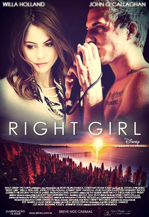 FanFic Poster Right Girl Izzyjoneslovato Tags Cute Guy Love Movie