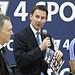 Jeremy Hunt at Premier League 4 Sport event