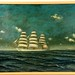 175. English Clipper Ship Painting