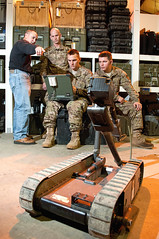 Pack Bot battlefield robot (The U.S. Army) Tags: usa nc fortbragg classes jrtc