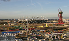 The New Olympics - From Central House (Daveyboy_75) Tags: london sports architecture stadium olympus olympics olympicstadium stratford centralhouse sp560
