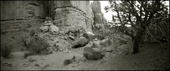 the area with the stone crab guardian (cZak142) Tags: camera stone utah crab arches pinhole guardian homebuilt obscura owndesign stnop mcpastur czak142p czak142 142