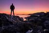 Autoretrato al atardecer (HDR) (Enrikerfca) Tags: sunset selfportrait atardecer autoretrato mazarron percheles