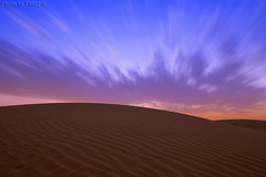 Sand Texture (TARIQ-M) Tags: longexposure sunset sky cloud texture landscape sand waves pattern desert ripple patterns dunes wave ripples riyadh saudiarabia    canoneos5d            ef1635mmf28liiusm canoneos5dmarkii