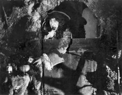 """Ernest Torrence as Captain Hook in the film, """"Peter Pan"""" (1924) (Orange County Archives) Tags: california history peterpan pirate hollywood movies historical southerncalifornia orangecounty silentfilm filmindustry orangecountyarchives orangecountyhistory onlocationsilentfilminorangecounty"""