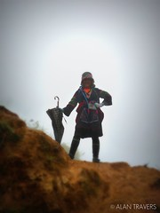 Mountain Woman (Alan Travers) Tags: world travel trekking asia south hill east vietnam backpacking around tribe rtw sapa hmong the