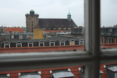 On a grey day (The Astrid) Tags: church window copenhagen rooftops roofs odc roundtower ruleofthirds rundetrn trinitatischurch