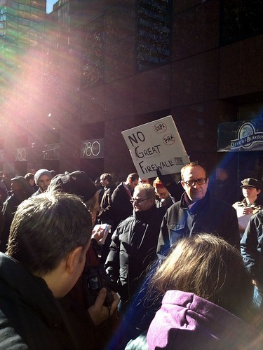 PIPA protests in NYC