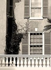 corner windows. . . . (Ed Brodzinsky) Tags: windows architecture balcony shutters americana hydepark railings stucco hudsonvalley architecturaldetails rooseveltmansion edbrodzinsky