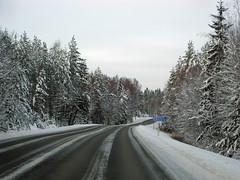 IMG_1536a (SeppoU) Tags: winter snow canon suomi finland highway lumi talvi valtatie ixus80 copyleftby seppouusitupa