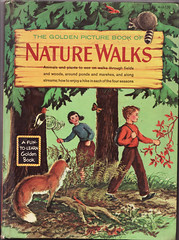 Golden Book of Nature Wlaks (Calsidyrose) Tags: art illustration design graphic style ephemera font typeface
