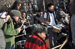 drummers (greenelent) Tags: nyc people newyork streets nikon washingtonsquarepark politics protest demonstration 99 phography ows occupy occupywallst