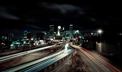 The Minneapolis City Skyline (A Brand New Minneapolis) Tags: cityscape traffic minneapolis evolution etsy process minneapolisskyline tumblr abrandnewminneapolis