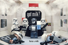 got milk? -2- (storm TK431) Tags: rebel milk starwars lego darth stormtrooper vader tantive
