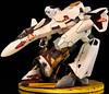 macross_plus_yf19_02 (odeean) Tags: robot plus custom scratch built mecha macross papercraft yf19 gerwalk odeean