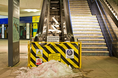 Escalator Closed (Chris7D) Tags: escalator 7d watford 2012