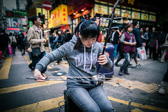 Young Street Erhuist (dawvon) Tags: artists asia bokeh china city cityscape dof depthoffield erhu erhuist hongkong kowloon life mk mongkok musicians people portraits road saiyeungchoistreet secondfiddle shallowdepthoffield snapshot streeterhuist streetmusicians streetperformance streetperformers streetphotography style traffic travel urban world photojournalism