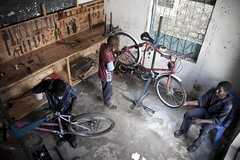 02 Dec 11 (jasonelliotfinch) Tags: bicycle kenya tools workshop gh workbench mombasa toolboard