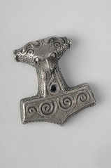 Pendant, Thor's hammer (The Swedish History Museum, Stockholm) Tags: call we them vikings