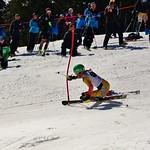 Tyra Collombin, 2014 Keurig Cup Spring Series Slalom at Grouse PHOTO CREDIT: Derek Trussler