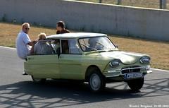 Citron Ami 6 (XBXG) Tags: auto old 6 france classic car vintage french automobile citron voiture mans ami le frankrijk bugatti circuit 72 lemans ancienne ami6 sarthe franaise citronami citronami6