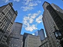 From City Hall Park (Al 72) Tags: urban usa newyork architecture canon spring parkrow ixus financialdistrict lowermanhattan cityhallpark spring2014 newyorkspring2014