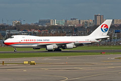 B-2425 China Cargo 747-400F (Centreline Photography) Tags: china holland netherlands amsterdam plane canon airplane airport aircraft aviation airplanes flight aeroplane cargo planes chrishall flughafen schiphol runway ams freight 747 spotting airliner airliners 747400 schipholairport eham planespotting flug spotters chinaeastern amsterdamairport 747400f eos400d chinacargo b2425 centrelinephotography