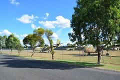 DSC_0921 (LoxPix2) Tags: clouds vintage landscape airport aircraft australia queensland nomad caribou oakey loxpix australianarmyflyingmuseum