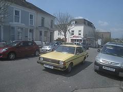 1980 Datsun Sunny. (RUSTDREAMER.) Tags: sunny 1980 coupe datsun bangernomics rustdreamer